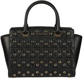 Michael Kors Quilted Tote - BLACK - STYLE