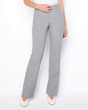 Express Mid Rise Mini Plaid Barely Boot Publicist Pant