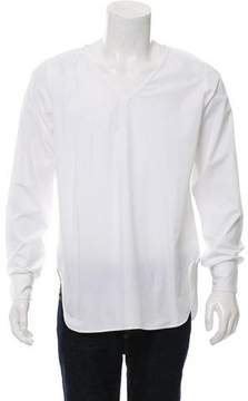 Dries Van Noten Oversize V-Neck Shirt