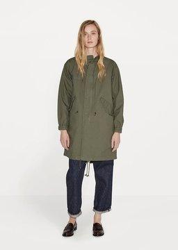 Chimala Unisex M51 Fishtail Coat Army Green Size: Medium