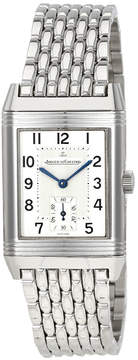 Jaeger-LeCoultre Jaeger Lecoultre Reverso Grande Taille Silver Dial Stainless Steel Men's Watch