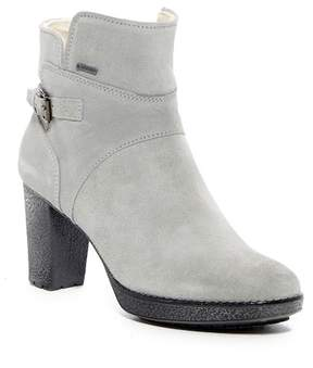 Manas Design Fur Trimmed Half Boot