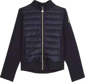 Moncler Jersey sleeve puffa jacket 4-14 years