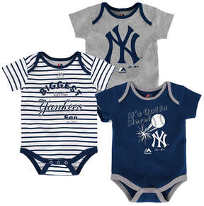 Majestic New York Yankees Homerun 3-Piece Set, Baby Boy (12-18 months)