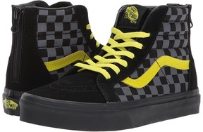 Vans Kids Sk8-Hi Zip Asphalt/Reflective) Boy's Shoes