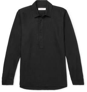 Orlebar Brown Ridley Linen Half-Placket Shirt