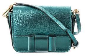 Burberry Metallic Crossbody Bag - GREEN - STYLE