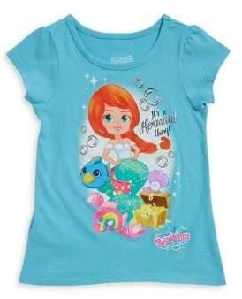 Nannette Little Girl's Mermaid Graphic Tee