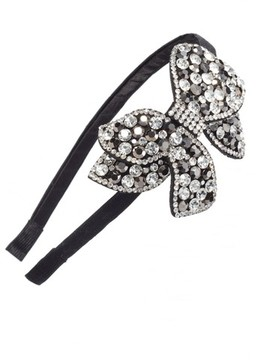 Tasha Crystal Bow Headband