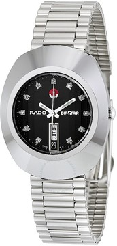 Rado Diastar Automatic Black Dial Men's Watch