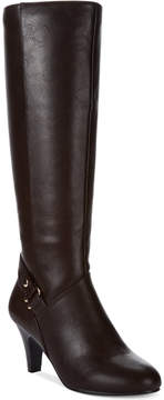 Karen Scott Women's Harloww Wide Calf Tall Boots Women's Shoes