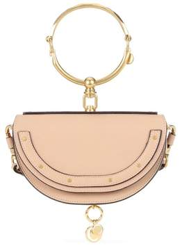Chloé Nile Minaudière leather crossbody bag