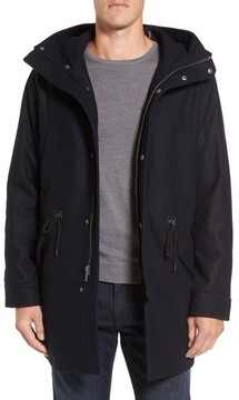 Cole Haan Men's Melton Wool Blend Anorak