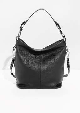 Grain Leather Hobo
