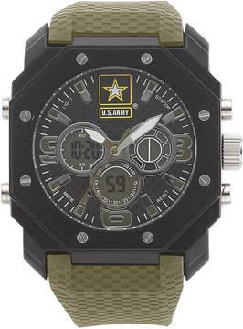 JCPenney WRIST ARMOR Wrist Armor C28 Mens US Army Analog-Digital Chronograph Watch