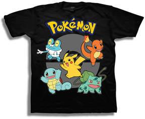 Freeze Pokemon Graphic T-Shirt-Big Kid Boys