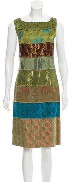 Jean Paul Gaultier Patterned Knee-Length Dress
