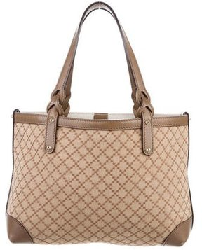 Gucci Diamante Craft Tote - BROWN - STYLE