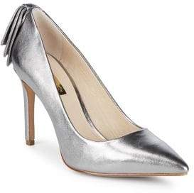 Louise et Cie Josely Metallic Leather Pumps
