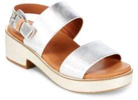 Gentle Souls Talia Leather Sandals