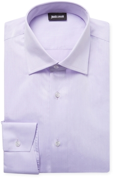 Just Cavalli Men's Spread Dress Shirt