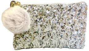 Two's Company Sequin Makeup Bag