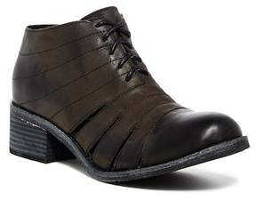Antelope Cutout Leather Oxford Bootie