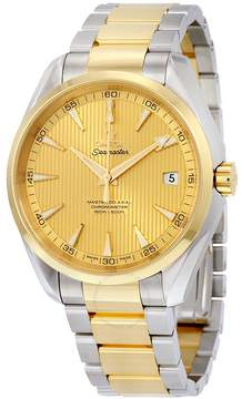Omega Seamaster Aqua Terra Steel and 18k Yellow Gold Automatic Men's Watch