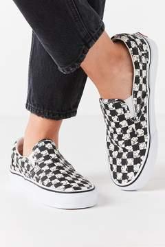 Vans X Peanuts Checkerboard Slip-On Sneaker
