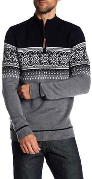 Obermeyer Bryce Half Zip Merino Wool Sweater