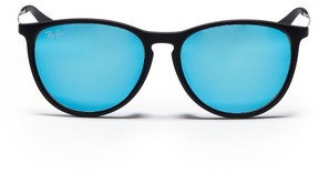 Ray-Ban 'Izzy' rubberised frame metal temple junior mirror sunglasses