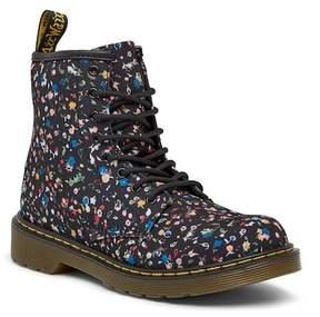 Dr. Martens Delaney Floral Lace-Up Boot (Toddler & Little Kid)