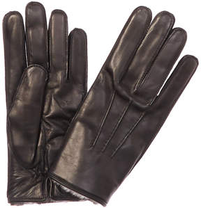 Canali Leather Gloves