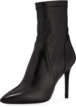 Charles David Linden Leather Stiletto Bootie