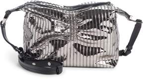 Isabel Marant Pleated Metallic Leather Crossbody Bag