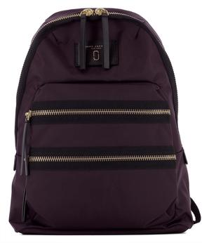 Marc Jacobs Violet Fabric Backpack - PURPLE - STYLE