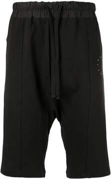 Les Benjamins drop crotch shorts