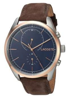 Lacoste San Diego Men's Watch 2010917 Brown 44mm Stainless Steel
