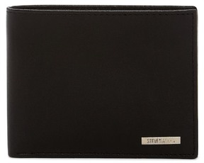 Steve Madden Leather Wallet & Key Fob Gift Set