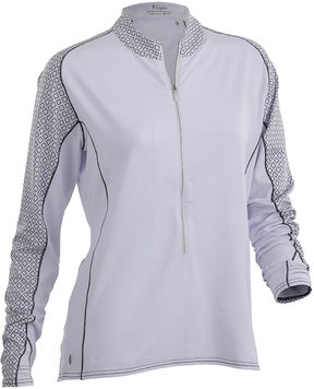 Asstd National Brand Nancy Lopez Golf Melody Quarter-Zip Pullover