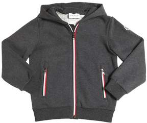 Moncler Hooded Cotton Sweatshirt