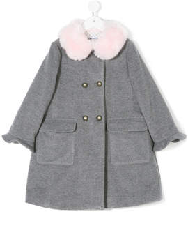 Simonetta double-breasted coat