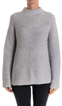 Hemisphere Women's Grey Cashmere Sweater.