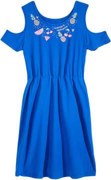 Epic Threads Big Girls Cold-Shoulder Super-Soft Dress, Created for Macy's