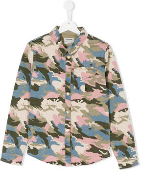 Zadig & Voltaire Kids camouflage denim jacket