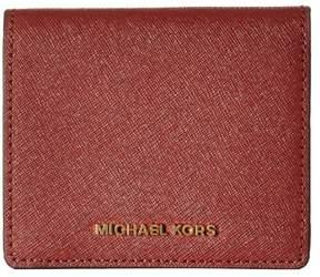 Michael Kors MICHAEL Jet Set Card Holder - BRICK - STYLE