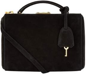 Mark Cross Small Grace Suede Box Bag
