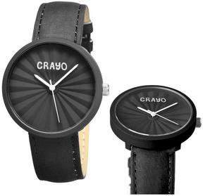 Crayo Pleats Collection CR1506 Unisex Watch