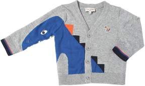 Paul Smith Dinosaur Cotton Knit Cardigan