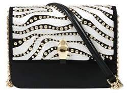 Class Roberto Cavalli Black/white Milano Bag Medium Milano Rmx 0.